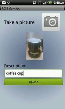 RCI Image Uploader apk screenshot