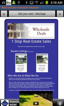 Real estate investor heaven apk screenshot