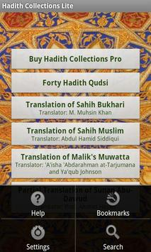 Hadith Collections Lite poster