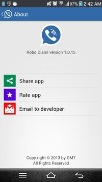 Robo Dialer apk screenshot