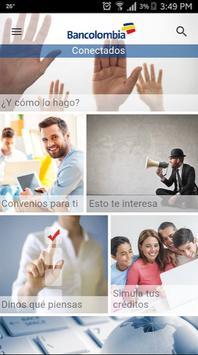 COnectados Bancolombia poster