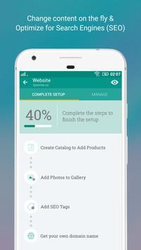 Free Website Builder - Boomer apk screenshot