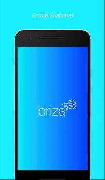 Briza - group snapchat poster