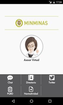 Asesor MinMinas poster