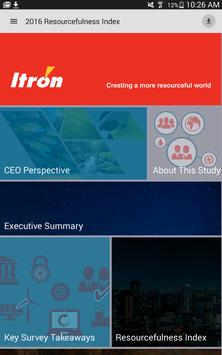 The Itron Index poster