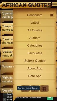 African Quotes Free apk screenshot