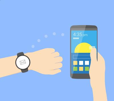 TALKEY - SMS on Android Wear poster