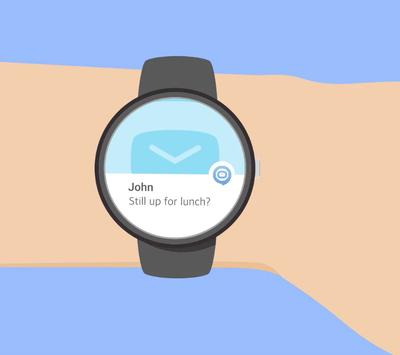 TALKEY - SMS on Android Wear apk screenshot