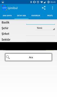 İşimi bul - İş arama motoru apk screenshot