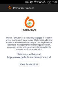 Perhutani E-commerce poster
