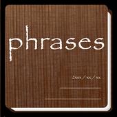書籍管理 phrases icon