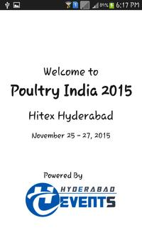 Poultry India 2015 poster