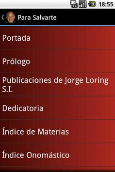 Para Salvarte - Jorge Loring apk screenshot