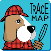 Trace Map icon