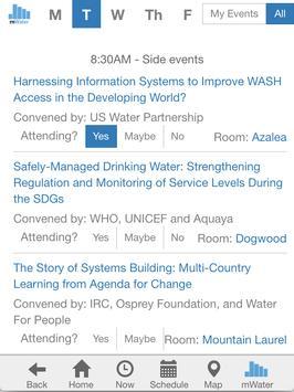 UNC Water and Health apk screenshot