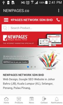 Newpages.co poster