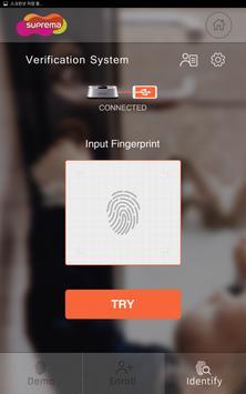 Suprema FingerPrint apk screenshot
