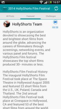 HollyShorts apk screenshot