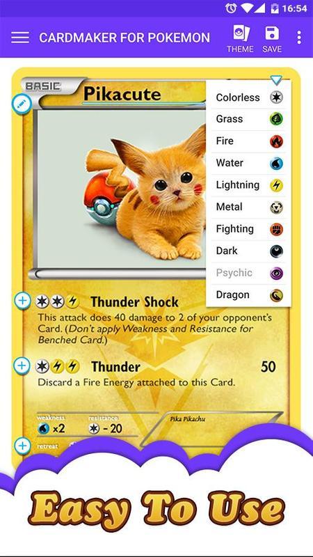 Card Maker for Pokemon APK Download - Free Comics APP for ...