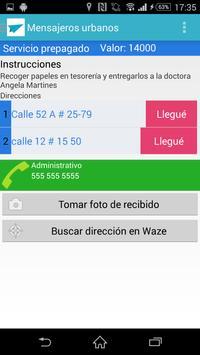 Domicilios Urbanos-Entregador apk screenshot