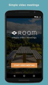 Room - simple video meetings poster