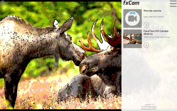 fxCam: 100+ effects video rec apk screenshot