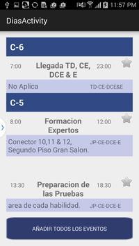 Eventos EliminatoriaWSI2015 apk screenshot