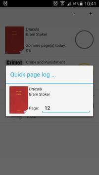Reading Planner apk screenshot