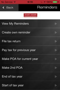 Hart Shaw Accountants apk screenshot