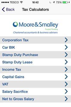 Moore and Smalley Accountants apk screenshot