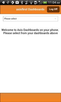 axisfirst Dashboards apk screenshot