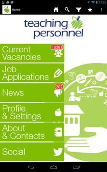 Teaching Personnel Jobs poster