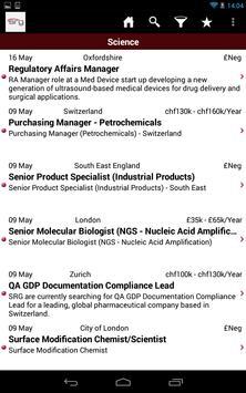 SRG Jobs apk screenshot