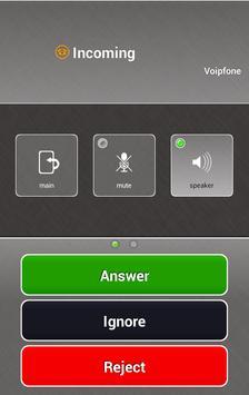Voipfone Softphone apk screenshot