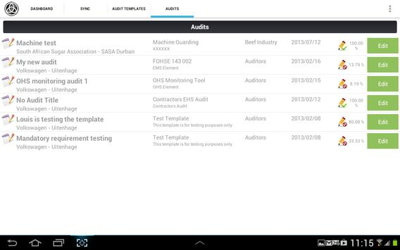Tablet Auditor apk screenshot