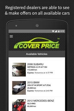 Cover Price apk screenshot