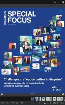 Brainstorm Special Focus Cisco poster