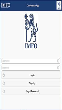 IMFO Conference Assistant apk screenshot