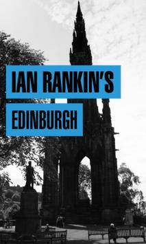Ian Rankin's Edinburgh poster
