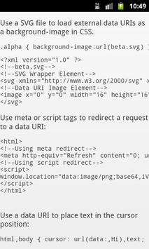 CSS EBook apk screenshot