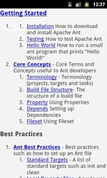 Apache Ant EBook poster