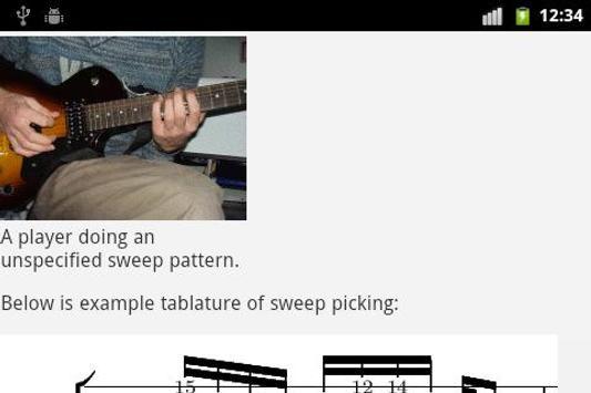 Guitar EBook apk screenshot