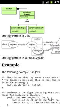 Design Patterns EBook apk screenshot