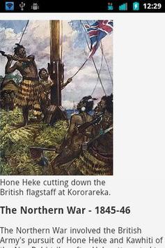 New Zealand History apk screenshot
