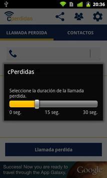 cPerdidas - Missing calls apk screenshot