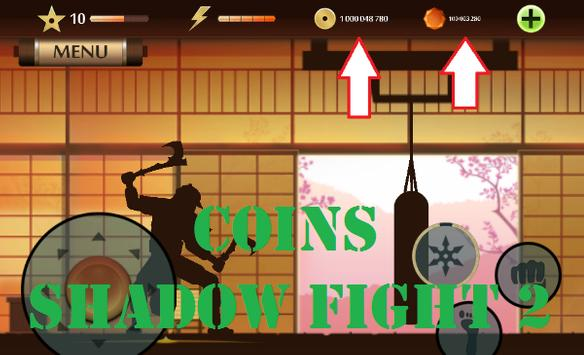 Coins For Shadow Fight 2 apk screenshot