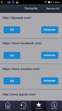AB Browser apk screenshot