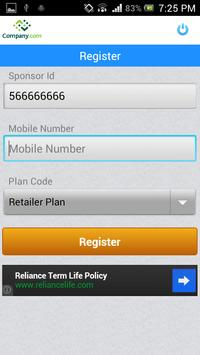 Multiwebs one sim all recharge apk screenshot