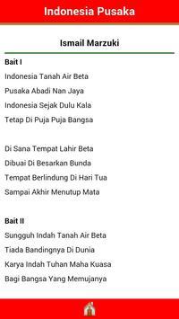 Lagu Nasional Indonesia apk screenshot