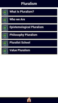 Pluralism poster